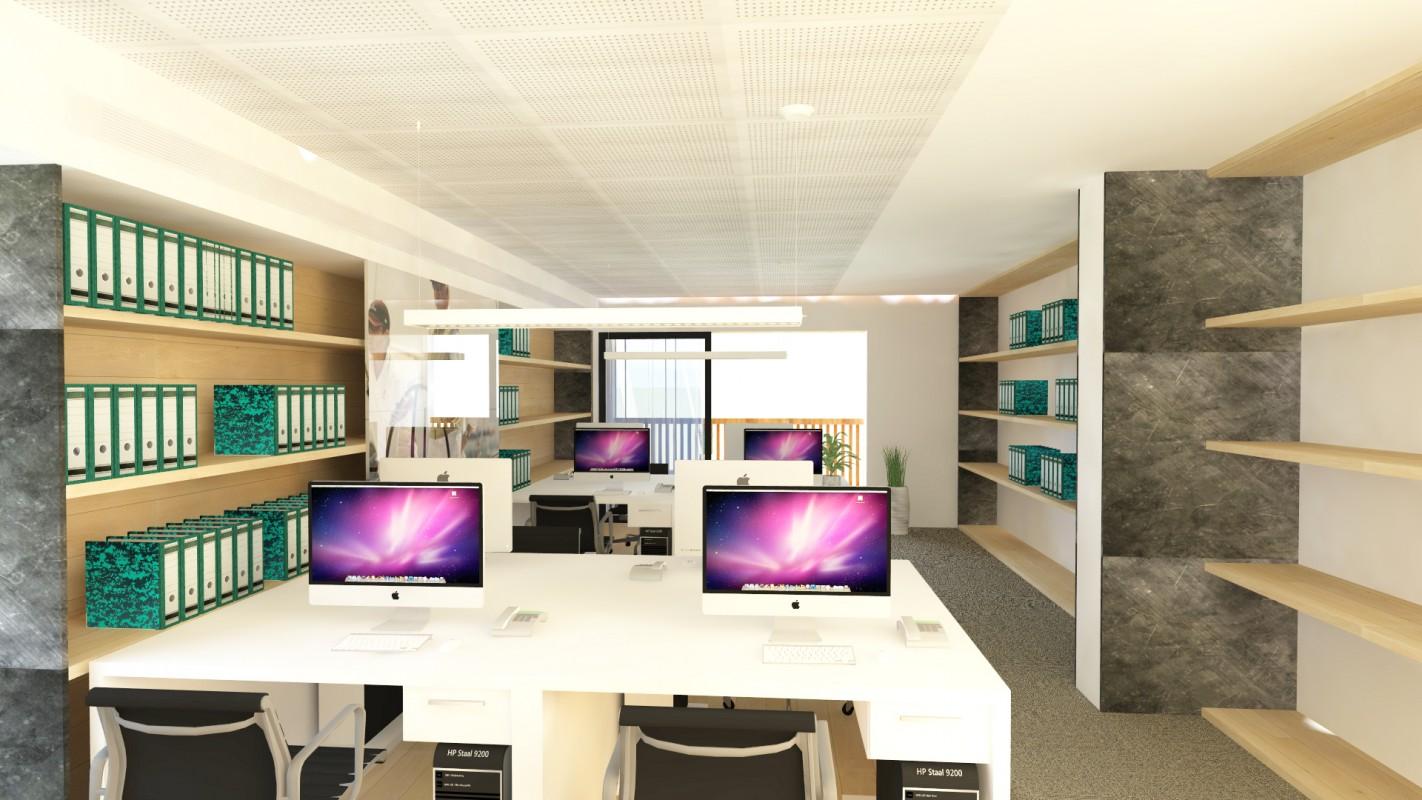 Flanigan Offices Refurbishment